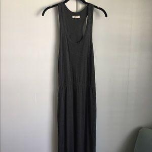 EUC Madewell Gray Maxi Dress